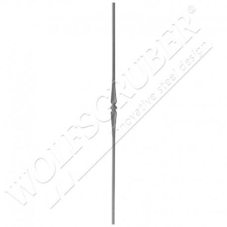 Barreau de diamètre 14mm, Longueur 1000mm - 1 noeud
