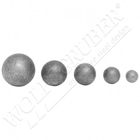Sphère pleine en fer forgé - Ø40