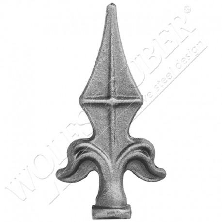 Pointe de lance avec encoche - Dimension 114x59