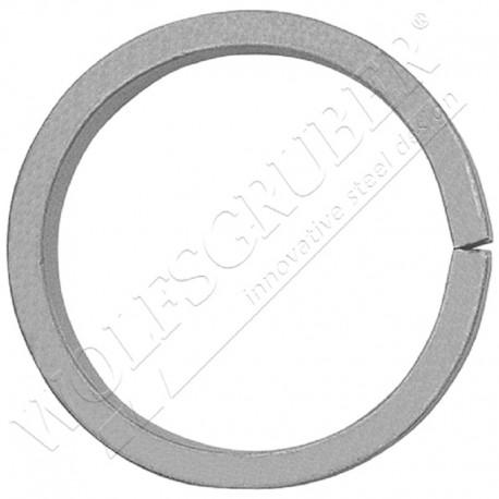 Bague en fer forgé - Diamètre 100 et épaisseur 14x6mm