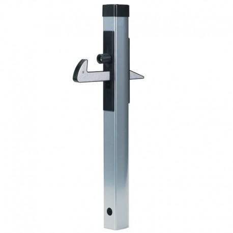 Arrêt de porte aluminium à crochet supérieur