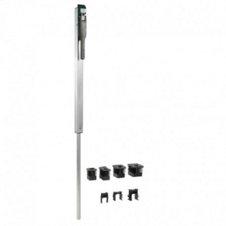 Verrou de sol intégré - Tige en aluminium couleur vert