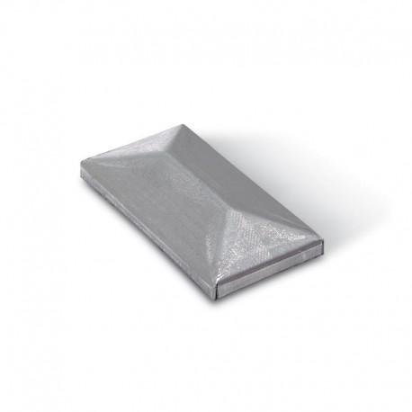 Chapeau rectangulaire à souder - Dimension 40x20