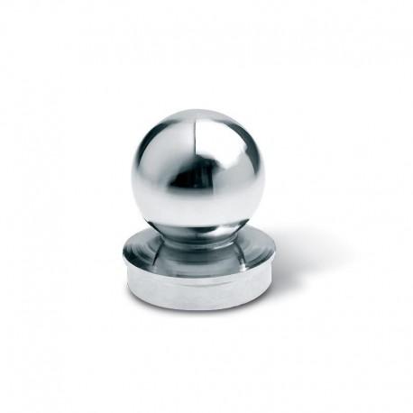 Chapeau à sphère chromé - Diamètre 102
