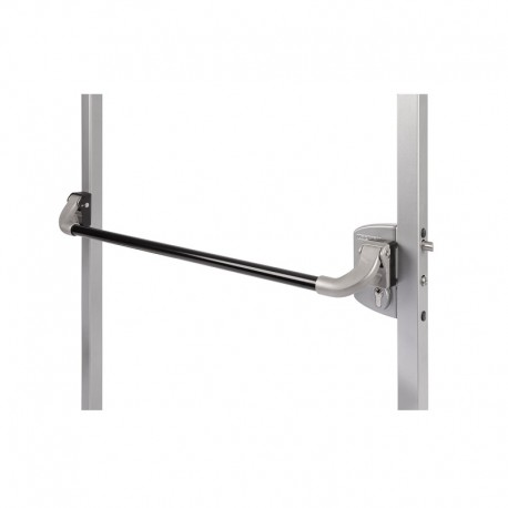 Push bar (ou barre poussoir) en aluminium