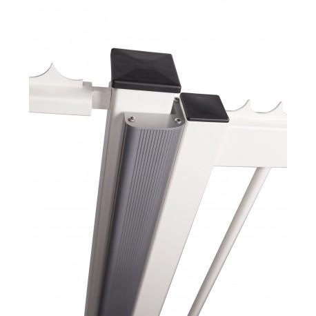 Profil aluminium pour ventouse à encastrer