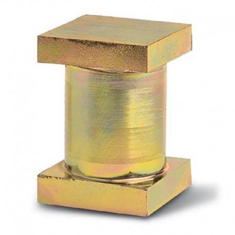 Axe bout de jonction pour gond à collier de diamètre 33,5