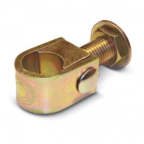 Gond réglable à collier diamètre 24 - série fer forgé