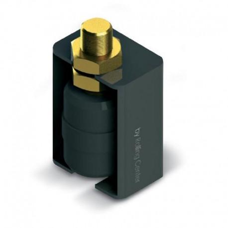 Plot de guidage cylindrique en nylon avec protection - Diamètre 40 et M20