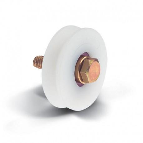 Poulie en nylon diamètre 60 - Gorge V