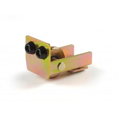 Roue de support avec plaque pour portail autoportant magnum (très lourd)