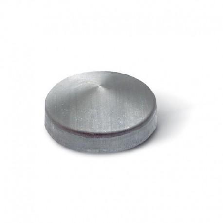 Chapeau rond noir à souder - Diamètre 90