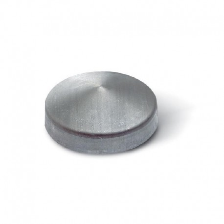 Chapeau rond noir à souder diamètre 114