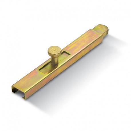 Verrou plat à souder - Longueur 200mm - Portail lourd