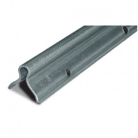 Rail à sceller Sistema Gorge O pour portail léger - Longueur 3m