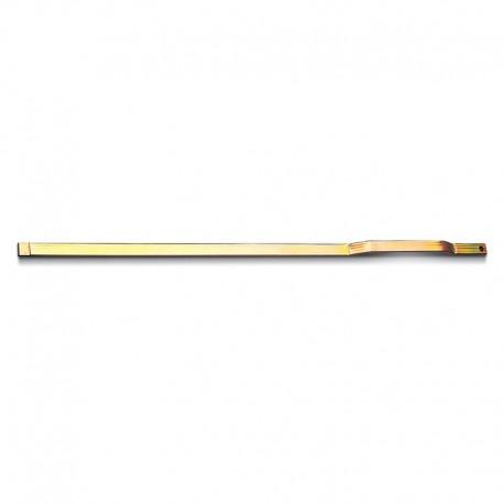 Barre inférieure pour crémone - 25x10
