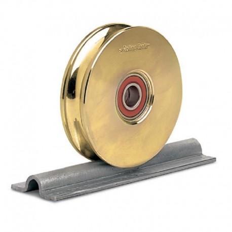 Rail à visser largeur de 80 mm - Gorge O