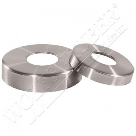 Cache-embase rond en inox - Diamètre 48,3