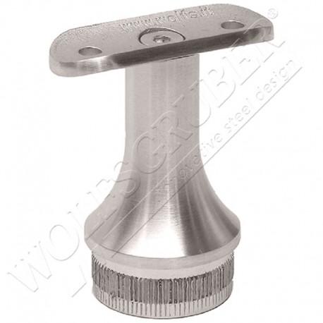Support de main courante fixe pour tube rond - Diamètre 33,7