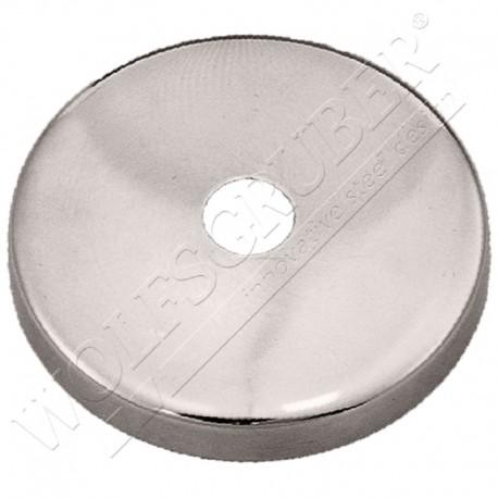 Cache-embase pour support de main courante - Diamètre 76 et DI 14mm
