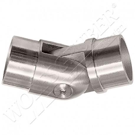 Coude réglable 90° à 180° - Pour tube diamètre 42,4
