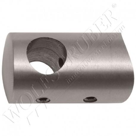 Support de lisse traversant - Diamètre 33,7 / Di 10mm