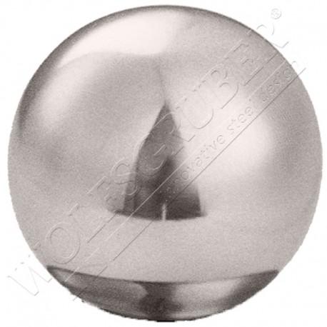 Sphère creuse à visser en inox - Diamètre 40