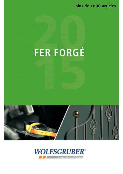 catalogue spécial fer forgé wolfsgruber commercialisé par RCF