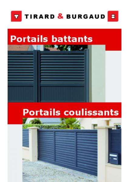 Tirard : portails battants et portails coulissants